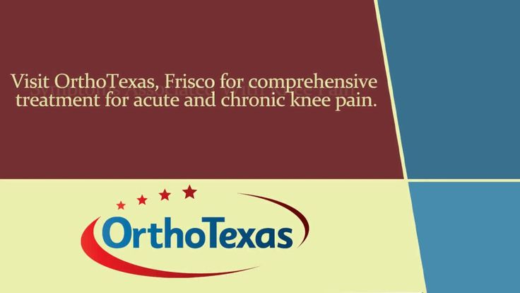 For comprehensive knee pain treatment, consider OrthoTexas, Frisco. The doctors aim at providing patients relief from acute and chronic knee pain. If you have difficulty in walking, inability to bend/straighten the knee or visible deformity, consult the knee doctors in Frisco. To schedule an appointment, visit http://kneepainfrisco.com