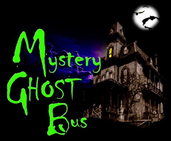 Seems fun, a mystery ghost bus tour at night. bwahahahaha