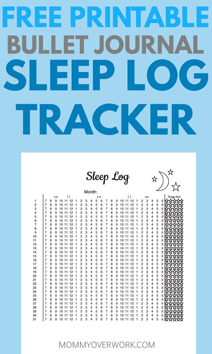 graphic regarding Sleep Tracker Printable identified as Bullet Magazine Snooze Tracker Tips in the direction of Capture ZZZs + No cost