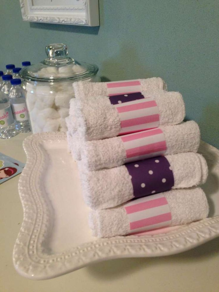 Spa Party Birthday Party Ideas | Photo 1 of 24 | Catch My Party