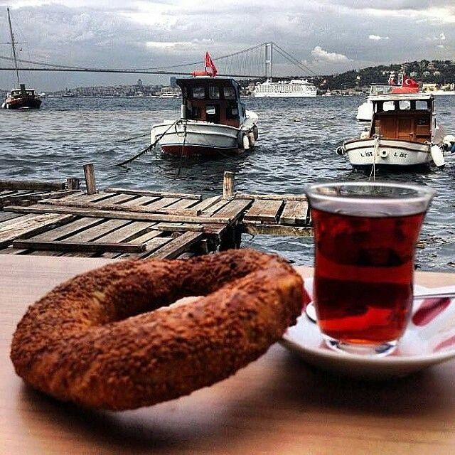 Tarihi Çınaraltı Çay Bahçesi - İstanbul ( Çengelköy )