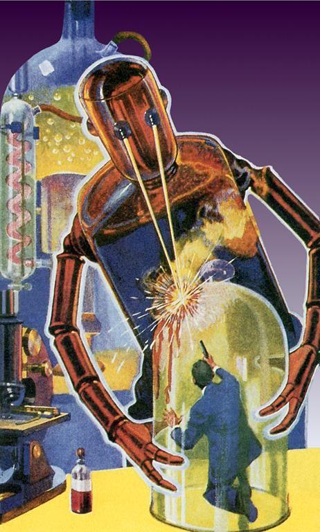 starfire astronauts laser beam robots - photo #43