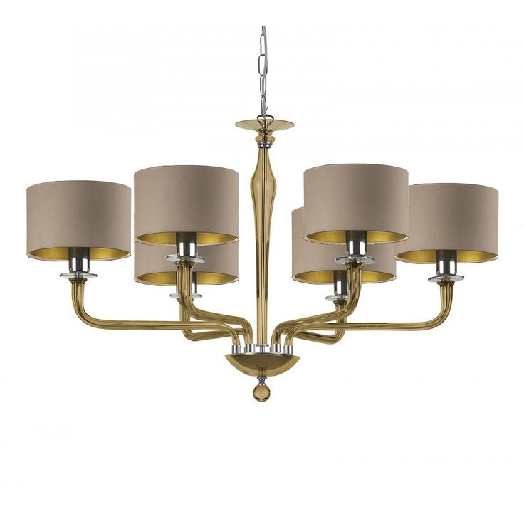 Crystal Chandelier With Drum Shade: Crystal Chandeliers, Drum Shade And Chandeliers On Pinterest