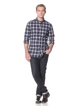 French Connection Men's Hirst Check Button Down Shirt