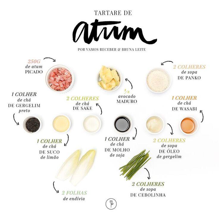 Tartare de Atum na Endívia com um quê de oriental e um toque de avocado a acrescentar certa complexidade ao sabor do atum, o prato certamente é um sopro ref