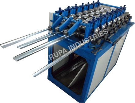 D coiler 2 ton cap.     Entry Gate with     Roll Forming Line with 12 station , 1 Gear Boxes & 10 H.P. electrical.     Control Panel semi auto     Cutting Unit (Hydro.)