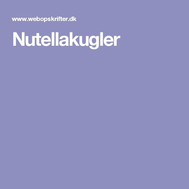 Nutellakugler