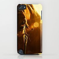 Slim Case iPhone 6, 6 Plus, 5, 4 / Samsung Galaxy S6 S5 S4 / IPOD Touch Evening Flare Horse Photograph