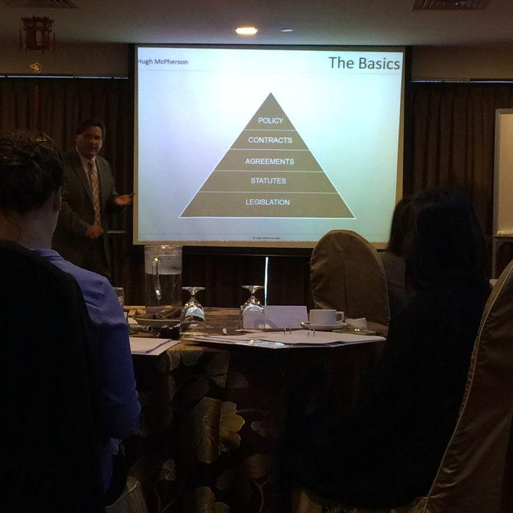The fundamental building blocks of the labour law in Australia...