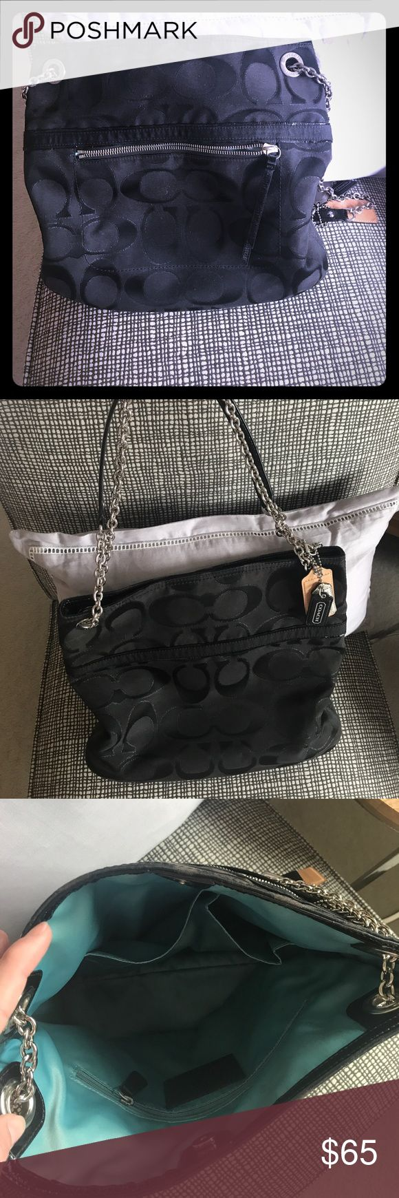 Black coach purse. Black coach purse. Gently used. Coach Bags Shoulder Bags