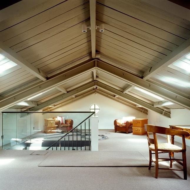 best 20 attic loft ideas on pinterest attic ideas loft. Black Bedroom Furniture Sets. Home Design Ideas
