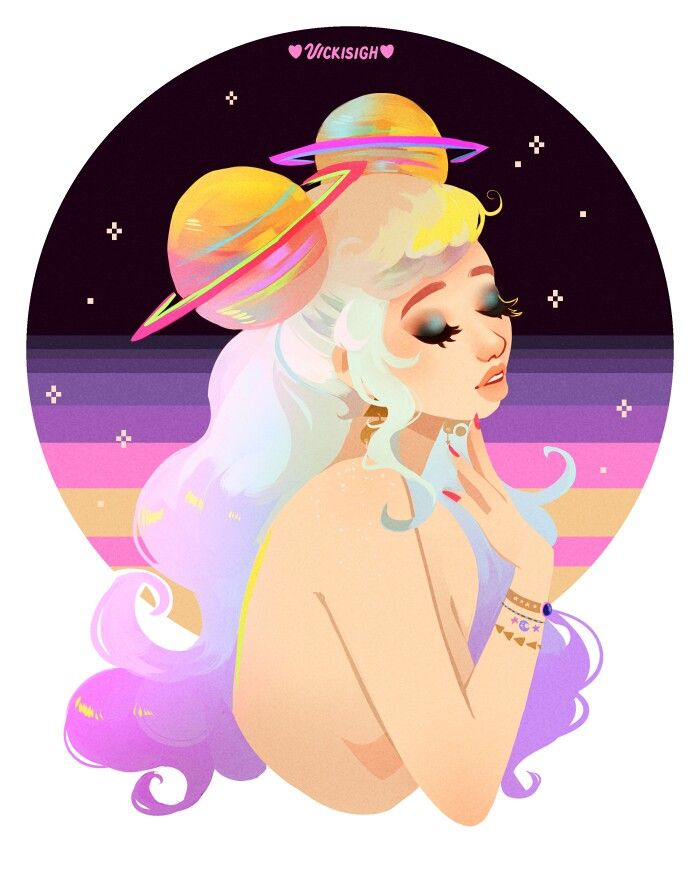 Girls with Space Buns Art http://geekxgirls.com/article.php?ID=7748