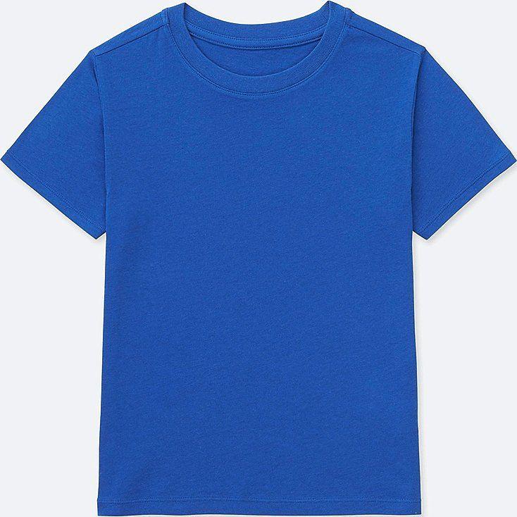Kids Packaged Color Crew Neck Short Sleeve T Shirt Kaos Kaos Pria Pakaian