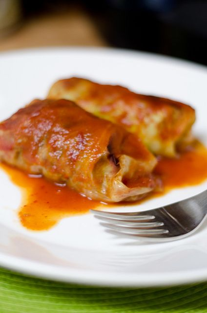 Stuffed Cabbage by Pennies on a Platter: Ground Beef, Sauces, Cabbage Rolls, Stuffed Cabbage Recipes, Food, Stuffed Cabbages Recipes, Great Ideas, Tomatoes, Cabbages Rolls