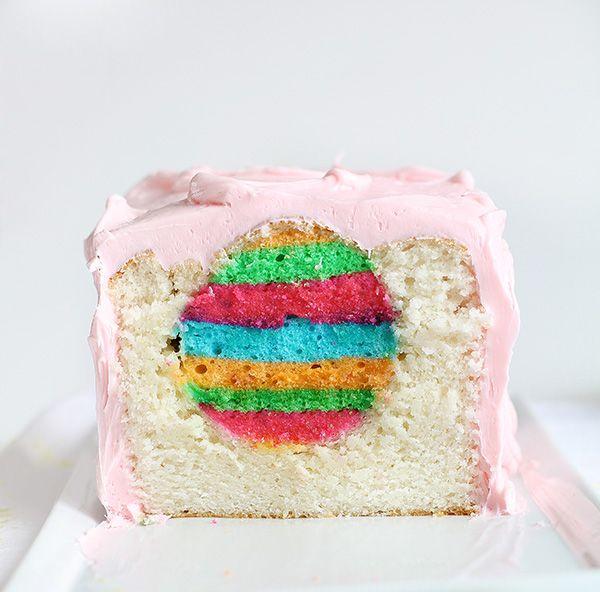 Un gâteau aux couleurs de Pâques