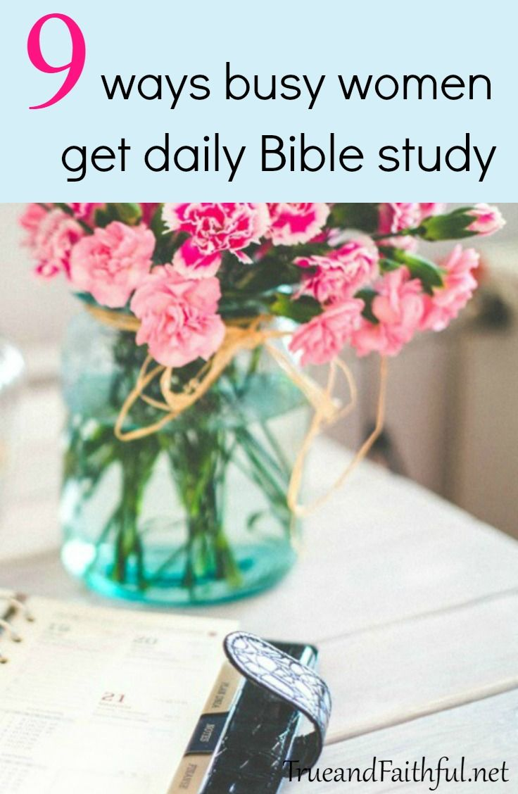 Here are 9 surefire ways to get in the Word no matter how busy life is. via @appelo9