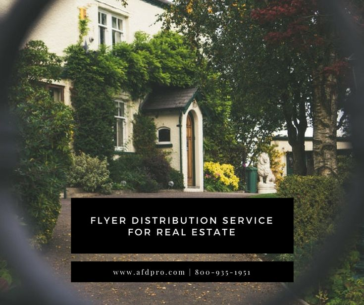 Get flyer distribution service for your real estate property. Call 800-935-1951 or contact us today.  #americanflyerdistribution #Flyers #Flyer #marketing #flyerdistribution