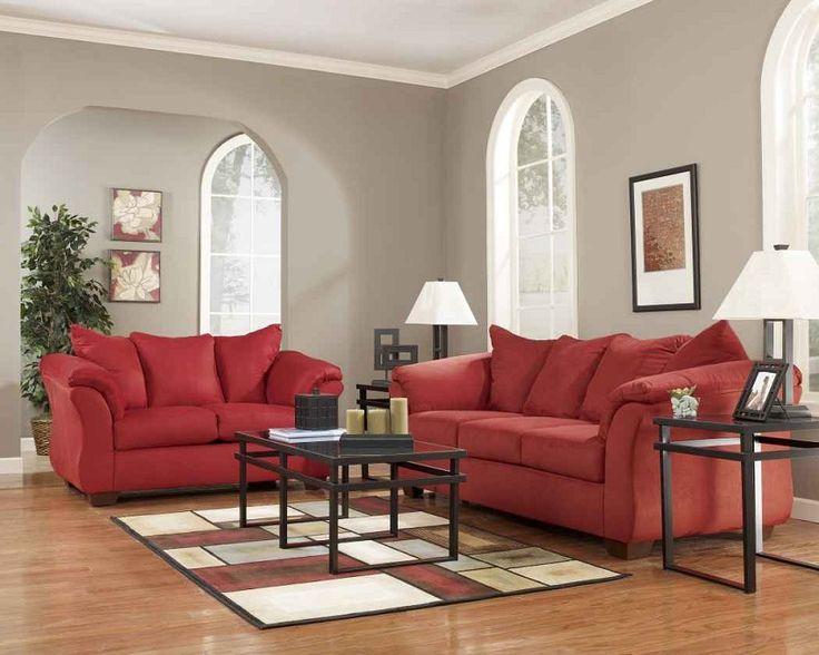 Ashley Furniture Living Room Sets Red 89 best sofa sets images on pinterest