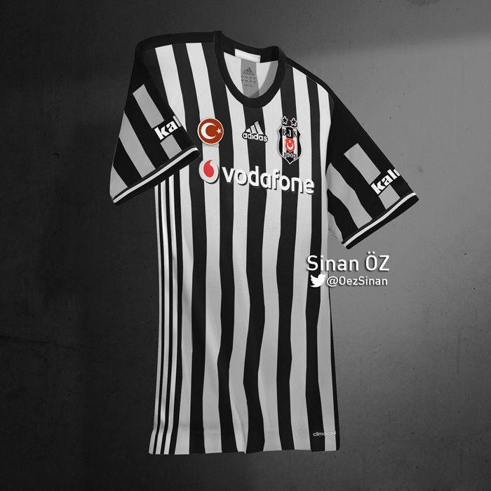 Besiktas 2016-2017 Jersey design