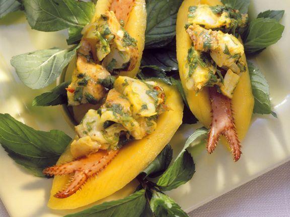 Mangos mit Hummersalat ist ein Rezept mit frischen Zutaten aus der Kategorie Südfrucht. Probieren Sie dieses und weitere Rezepte von EAT SMARTER!