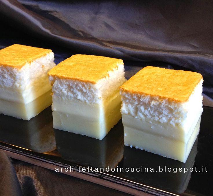 architettando in cucina: Torta magica alla vaniglia - Magic Custard Cake