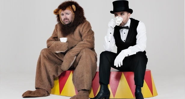 These guys are so funny!! Go on, click the picture. Read the article, If you haven't read it yet. It's worth the time. :) Ricky Gervais and Karl Pilkington - TV - ShortList Magazine
