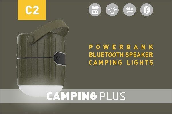 Water Resistant Outdoor Bluetooth Speaker Lights , Battery Operated Lanterns