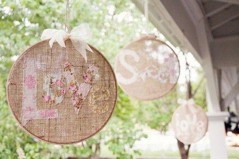 ♥Bastidores na decoração de casamento...