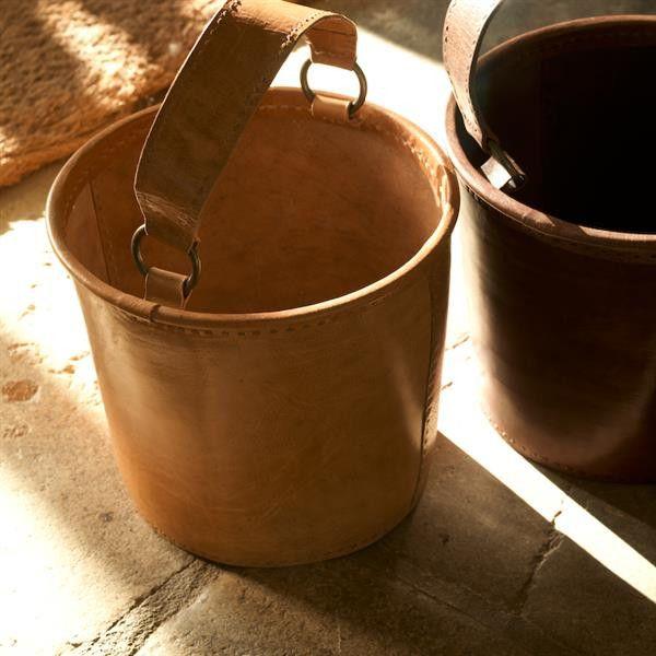 Cubo de Piel Savannah – Ekoestilo