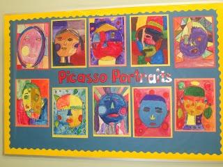 Picasso Portraits - Grade 5