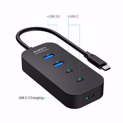 This Is a Great Fathers Day Gift, Order Now To Receive Gift In Time For Fathers Day !! USB HUB 3.0 with 5 Ports Hub Splitter Cable Ukey Adapter Phone Charger