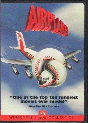 Airplane! Robert Hays Julie Hagerty Food Poisoning Widescreen PG