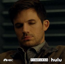 Matt Lanter Timeless tv show (2016- )