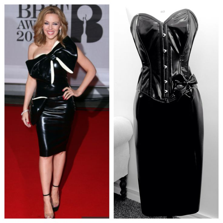 Get Kylie Minogue's PVC look with Vollers EXCLUSIVE Paloma corset in PVC and matching PVC Stella Skirt (not available online). Get 20% off if purchased as a set!! Order by email at: sales@vollers-corsets.com