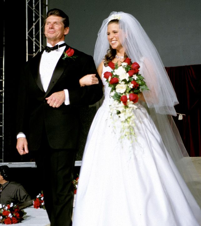 """( CELEBRITY WOMAN from WWE Diva 2016 ★ STEPHANIE McMAHON ) ★ Stephanie Marie McMahon - Friday, September 24, 1976 - 5' 8½"""" - Hartford, Connecticut, USA. & ( CELEBRITY MAN from WWE 2016 ★ VINCE McMAHON ) ★ Vincent Kennedy McMahon - Friday, August 24, 1945 - 6' 1' - Pinehurst, North Carolina, USA."""