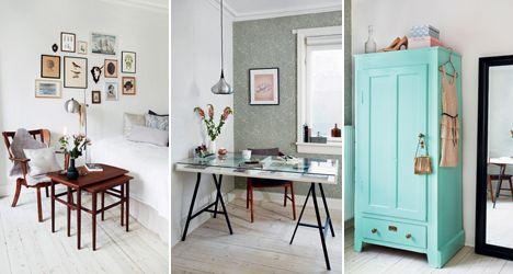 Ideer til små hjem: 65 kvadratmeter til to veninder, BoligLiv.dk
