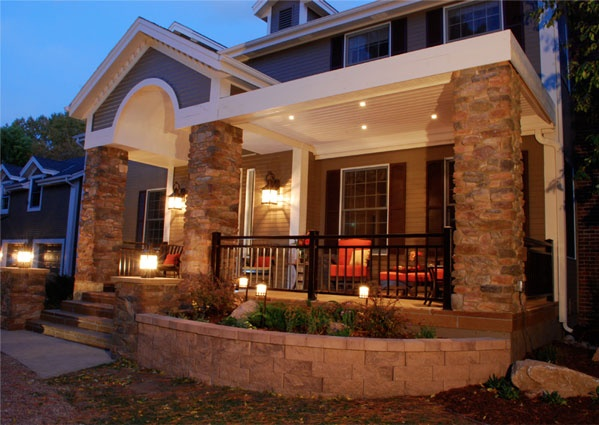 1000 Images About Front Deck Designs On Pinterest