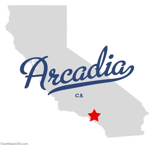 Arcadia CA | Map of Arcadia California CA - https://www.facebook.com/llovemycity?ref=hl