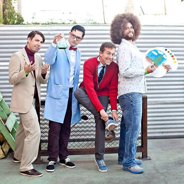 Men vs Cosplay | The PBS Avengers (Carl Sagan, Bill Nye the Science Guy, Mister Rogers, Bob Ross)