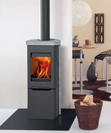 12 best the easter stove images on pinterest wood burning stoves wood stoves and bakeries - Estufa lena pequena ...