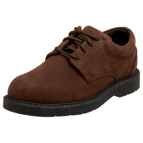 School Issue Little Kid/Big Kid Scholar Uniform Shoe School Issue. $44.95. Made in China. Leather or suede. Manmade sole