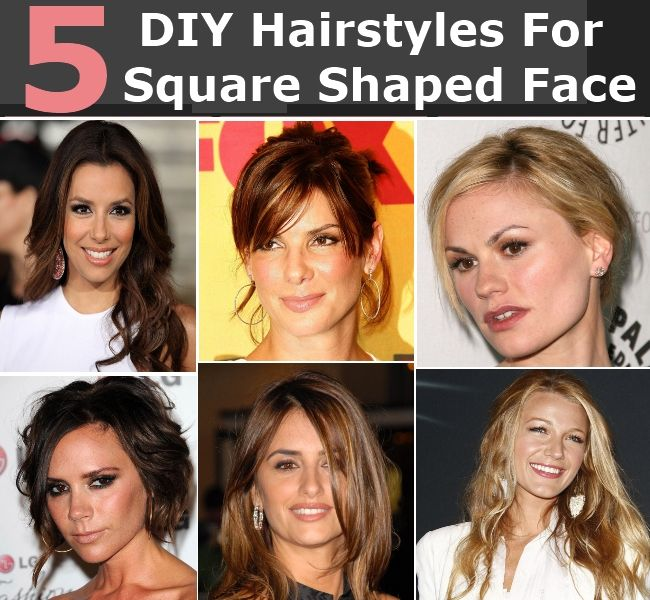 Square Shaped Face Hairstyles: 5 Engaging DIY Hairstyles For Square Shaped Face