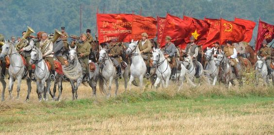 Russian Cavalry, The Battle of Warsaw
