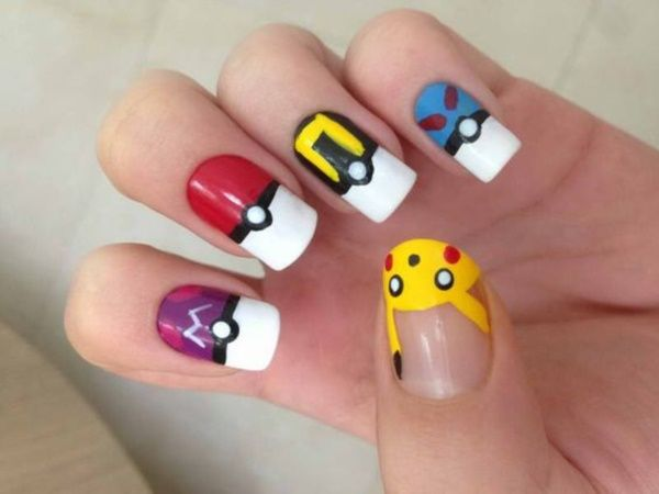 Cartoon+Nail+Art+as+relevant+as+ever.+In+a+fashion+bright+and+unusual+nail+design,+but+to+be+stylish,+it+is+very+important+not+to+overdo+it.+Let's+see+what+will+look+good,+and+that