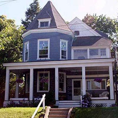 Exterior Paint Colors Blue 1049 best blue houses images on pinterest | blue houses