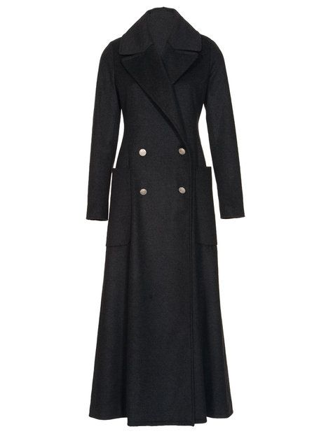 ankle length winter coat | 10/2011 Ankle-length double breasted wool coat – Sewing Projects ...
