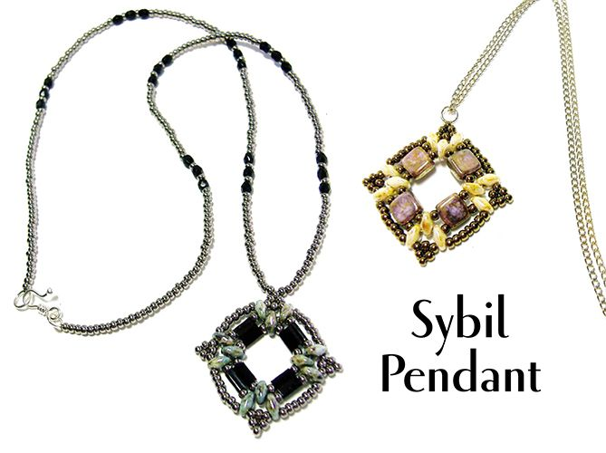 267 best bead pendantpin patterns tutorials images on pinterest sybil beaded pendant pattern bead patterns aloadofball Image collections