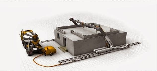 The Flying Tortoise: Here's How A 3D Printer Using Contour Crafting Can Build A Home In Twenty Four Hours...