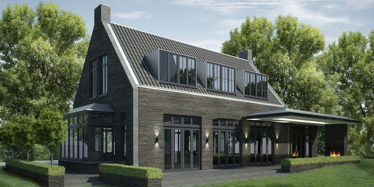 MARENKESSEL #denoldervleugels.nl In het buitengebied van Maren-Kessel is een woning ontworpen waarin met een zorgvuldige detaillering en materiaalkeuze de balans gezocht wordt tussen landelijk en modern.