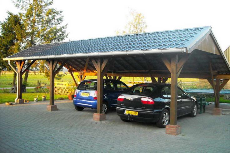25 best 2 car carport ideas on pinterest car ports car for Stand alone carport designs
